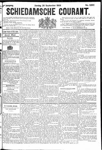 Schiedamsche Courant 1908-09-20