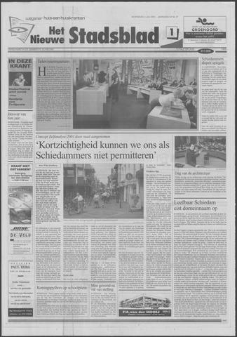 Het Nieuwe Stadsblad 2001-07-04