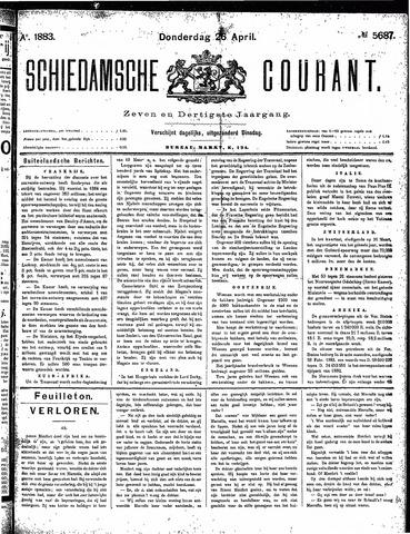 Schiedamsche Courant 1883-04-26