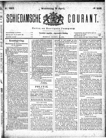 Schiedamsche Courant 1883-04-18