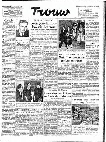 Trouw / De Rotterdammer 1955-01-27