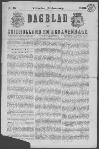 Dagblad van Zuid-Holland 1860-01-21