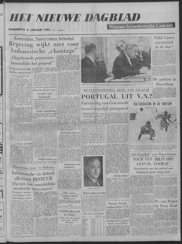 Nieuwe Schiedamsche Courant 1962-01-04