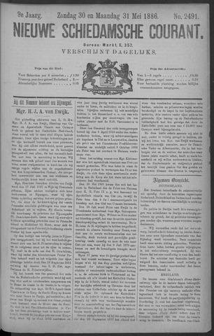 Nieuwe Schiedamsche Courant 1886-05-31