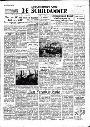 Rotterdamsch Parool / De Schiedammer 1949-03-26