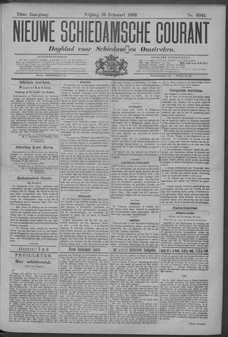 Nieuwe Schiedamsche Courant 1909-02-19