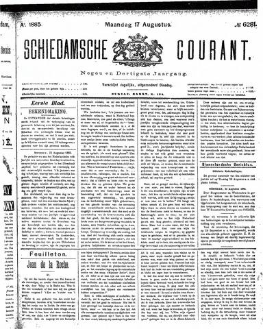 Schiedamsche Courant 1885-08-17