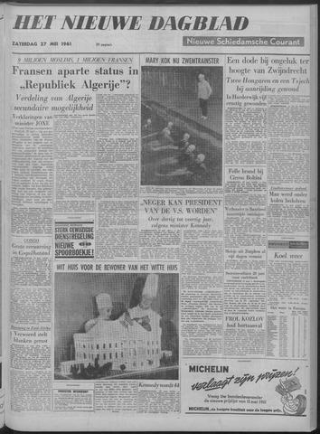 Nieuwe Schiedamsche Courant 1961-05-27