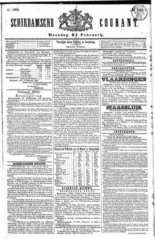Schiedamsche Courant 1862-02-24