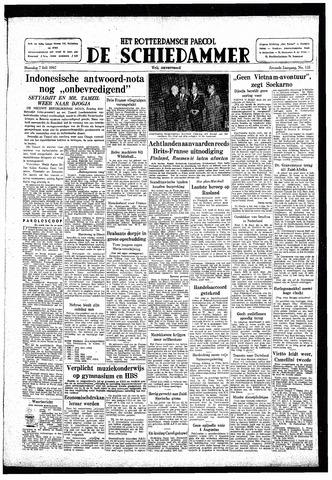 Rotterdamsch Parool / De Schiedammer 1947-07-07
