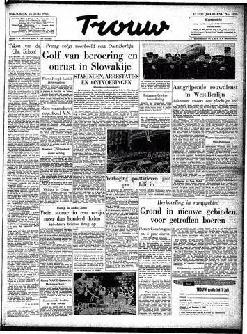 Trouw / De Rotterdammer 1953-06-24