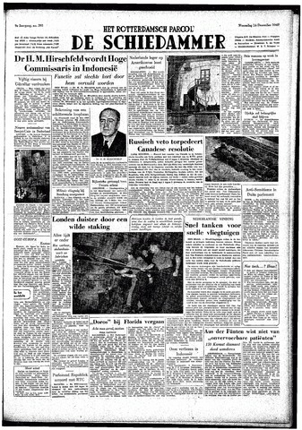 Rotterdamsch Parool / De Schiedammer 1949-12-14
