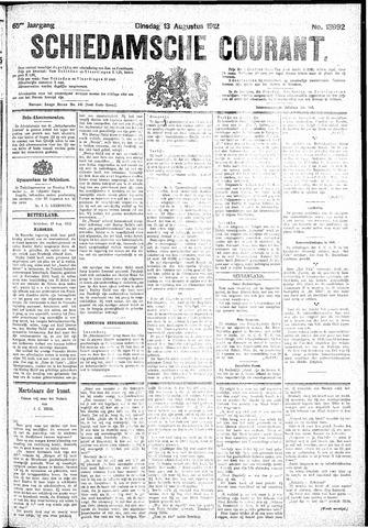 Schiedamsche Courant 1912-08-13