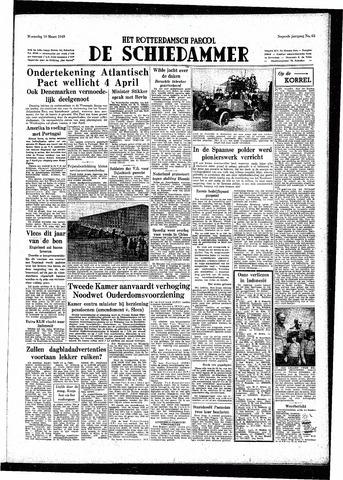 Rotterdamsch Parool / De Schiedammer 1949-03-16