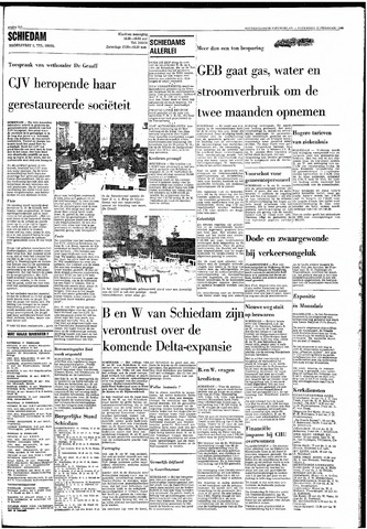 Rotterdamsch Nieuwsblad / Schiedamsche Courant / Rotterdams Dagblad / Waterweg / Algemeen Dagblad 1968-02-17