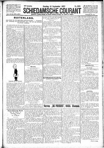 Schiedamsche Courant 1927-09-13