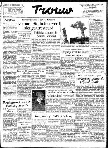 Trouw / De Rotterdammer 1956-12-28