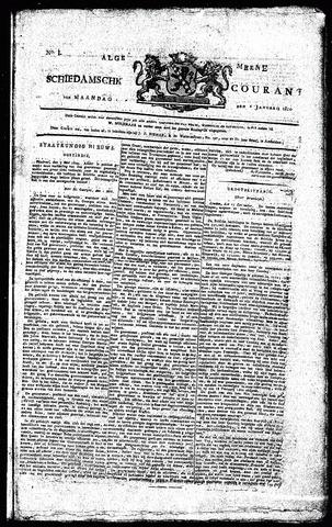 Algemeene Schiedamsche Courant 1810