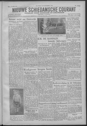 Nieuwe Schiedamsche Courant 1946-10-28