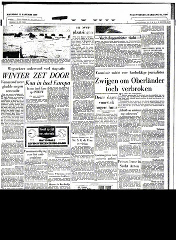 Trouw / De Rotterdammer 1960-01-11
