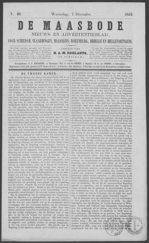 De Maasbode 1853-12-07