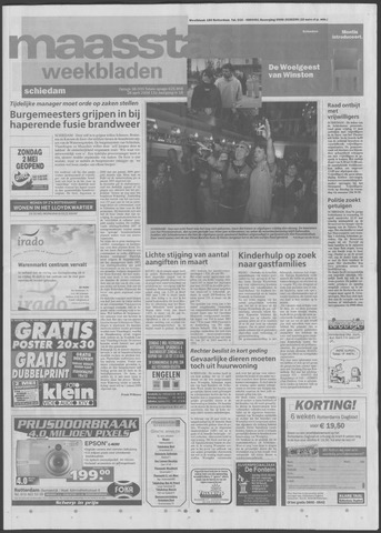 Maaspost / Maasstad / Maasstad Pers 2004-04-28