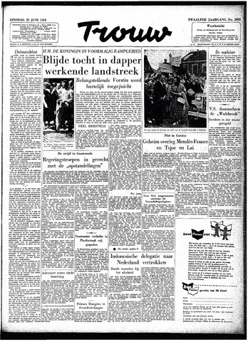 Trouw / De Rotterdammer 1954-06-22