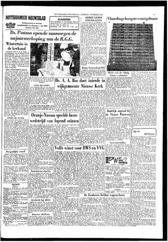Rotterdamsch Nieuwsblad / Schiedamsche Courant / Rotterdams Dagblad / Waterweg / Algemeen Dagblad 1966-11-01