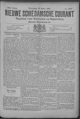 Nieuwe Schiedamsche Courant 1901-03-13