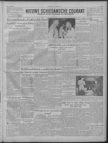 Nieuwe Schiedamsche Courant 1949-10-05