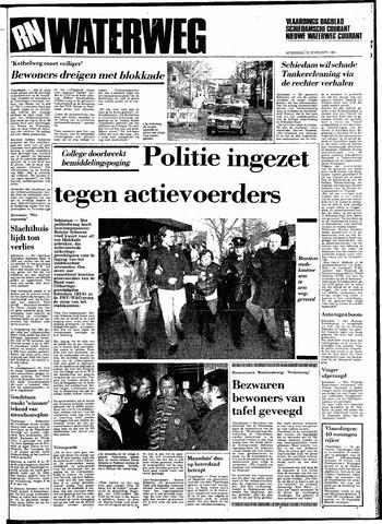 Rotterdamsch Nieuwsblad / Schiedamsche Courant / Rotterdams Dagblad / Waterweg / Algemeen Dagblad 1983-11-23