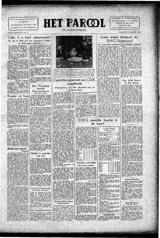 Rotterdamsch Parool / De Schiedammer 1946-03-25