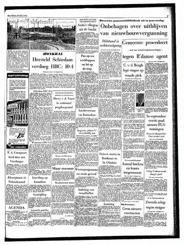 Rotterdamsch Parool / De Schiedammer 1963-07-29