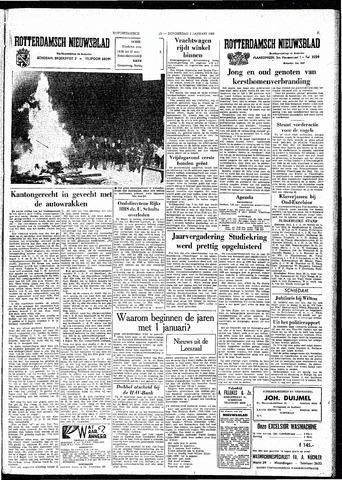 Rotterdamsch Nieuwsblad / Schiedamsche Courant / Rotterdams Dagblad / Waterweg / Algemeen Dagblad 1963