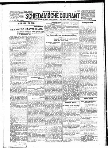 Schiedamsche Courant 1935-10-02