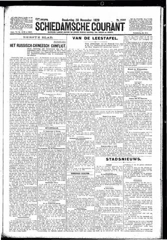 Schiedamsche Courant 1929-11-28