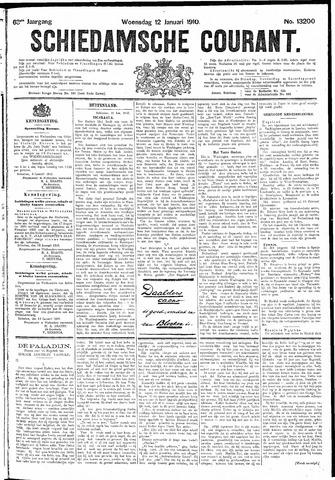 Schiedamsche Courant 1910-01-12