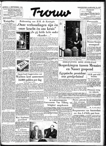 Trouw / De Rotterdammer 1956-09-04
