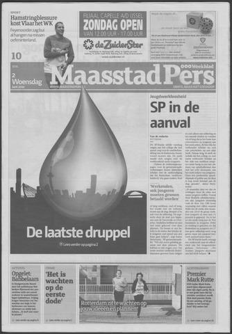Maaspost / Maasstad / Maasstad Pers 2010-06-02