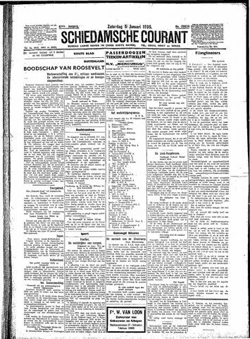 Schiedamsche Courant 1935-01-05