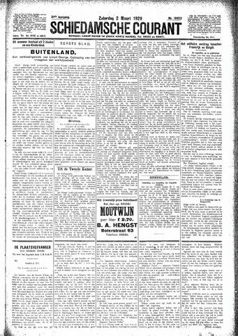 Schiedamsche Courant 1929-03-02
