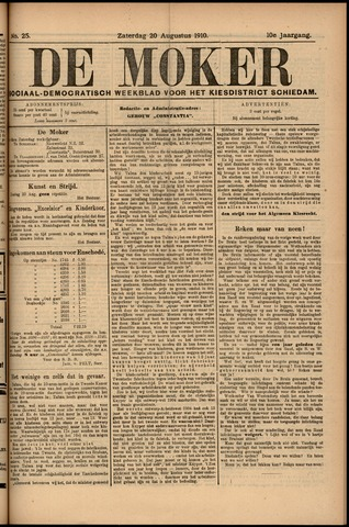 De Moker 1910-08-20