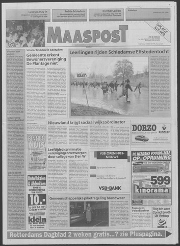 Maaspost / Maasstad / Maasstad Pers 1996-02-07