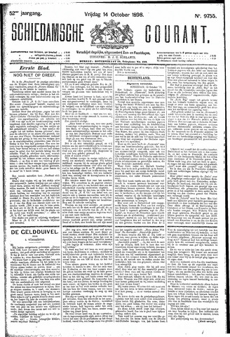 Schiedamsche Courant 1898-10-14