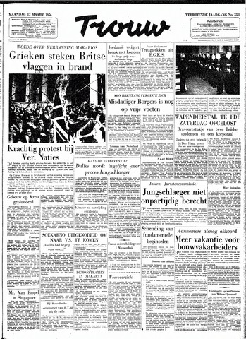 Trouw / De Rotterdammer 1956-03-12