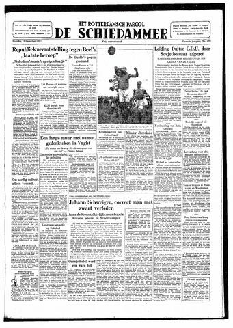 Rotterdamsch Parool / De Schiedammer 1947-12-22