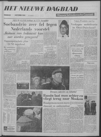 Nieuwe Schiedamsche Courant 1961-10-10
