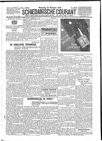 Schiedamsche Courant 1933-11-22