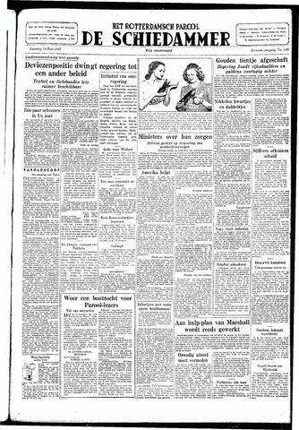 Rotterdamsch Parool / De Schiedammer 1947-06-14