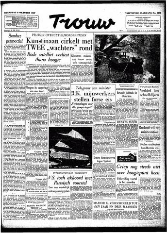 Trouw / De Rotterdammer 1957-10-09